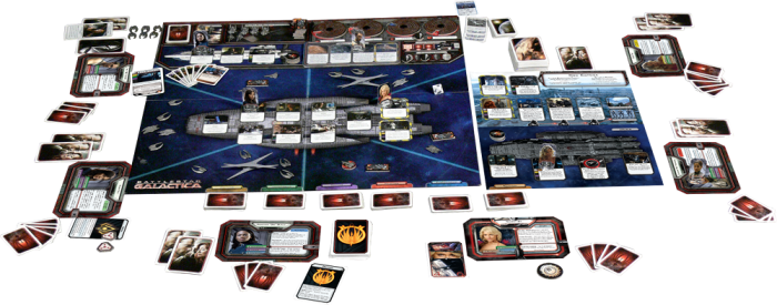 Battlestar Galactic: The Board Game. (Credit: Board Game Geek.)