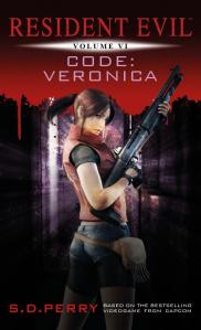 ... and the updated cover, depicting Claire Redfield as she appears in later game entries.