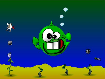 Tom's Dopefish character popped up in many games during the 1990s and 2000s.