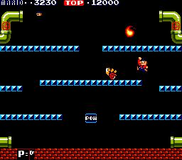 The original Mario Bros. arcade game, and the inspiration for DiMucci's arena platformer--Demons with Shotguns.