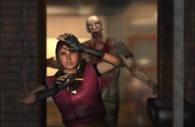 Perry adapted many scenes from the games--such as Claire's shock upon entering a Raccoon City diner and finding a zombie feasting on a corpse--verbatim from the games.
