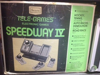 Like most dedicated boxes released during the late '70s, the Speedway IV was a dedicated console that featured derivatives of PONG. The concept was simple: take the same basic gameplay of two paddles batting around a square ball, change the background color, and declare it a different game. Blue background? Ice hockey. Green? Tennis.