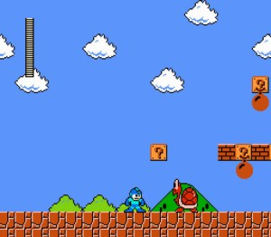 Mega Man Ultra's take on Woodman's level. Look familiar?