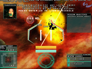 SabreWing 2, one of Travis's early games developed at WildTangent.