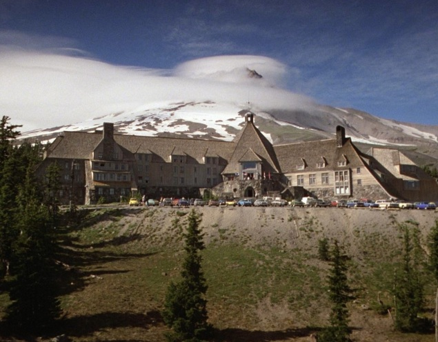 The Overlook Hotel, as depicted in Stanley Kubrick's The Shining.