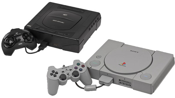 Biohazard began development for both PlayStation and Saturn.